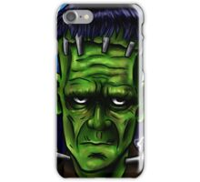 A Mad Man's Monster. iPhone Case/Skin