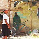 Bike workshop in Nairobi, KENYA by Atanas NASKO