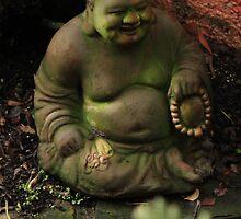 Buddha in Green by Renee D. Miranda
