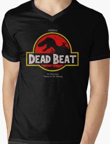 Jurassic Dresden Mens V-Neck T-Shirt
