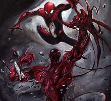 Spiderman Vs Carnage by catofnimes