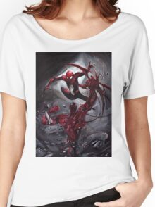 Spiderman Vs Carnage Women's Relaxed Fit T-Shirt