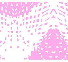 Abstract Pastel Soft Pink Background Photographic Print