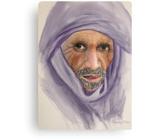 """Tuareg Elder"" Canvas Print"