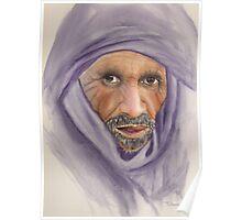 """""""Tuareg Elder"""" Poster"""
