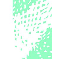 Abstract Soft Green Background Photographic Print