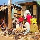 Colourful street vendors in Nairobi, KENYA by Atanas NASKO