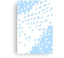Abstract Pastel Blue Background Canvas Print