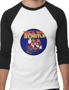 Mario - Back to the castle ! Men's Baseball ¾ T-Shirt