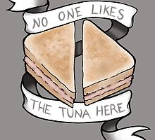 No One Likes The Tuna Here by Courtney Marie Art