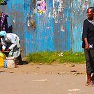 Street vendors in Nairobi, KENYA by Atanas NASKO