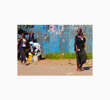 Street vendors in Nairobi, KENYA Unisex T-Shirt