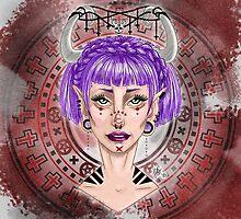 Female Demon 09 by JudithzzYuko