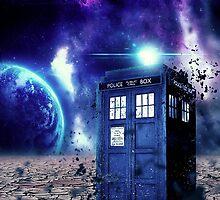 Doctor Who - Tardis  by graphicninja
