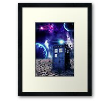 Doctor Who - Tardis  Framed Print