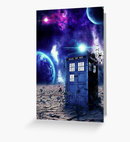 Doctor Who - Tardis  Greeting Card