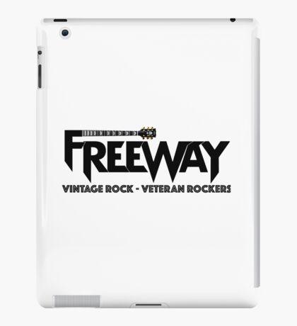 Freeway Black on Light iPad Case/Skin