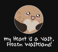 Pluto: My Heart is a Frozen Wasteland! Baby Tee