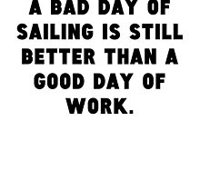 A Bad Day Of Sailing by GiftIdea