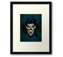 Ferocity Blue Framed Print