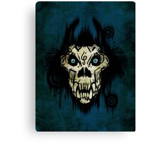 Ferocity Blue Canvas Print