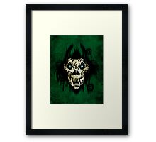 Ferocity Green Framed Print