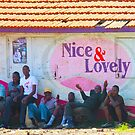 Nice & Lovely street vendors in Nairobi, KENYA by Atanas NASKO