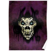 Ferocity Purple Poster
