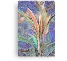 Lavender Unfurling Canvas Print