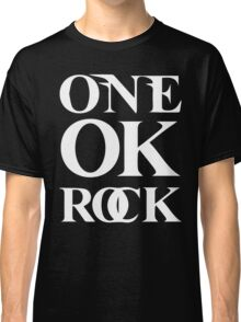 ONE OK ROCK (Alt Logo - White) Classic T-Shirt