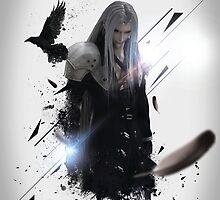Final Fantasy VII - Sephiroth by graphicninja