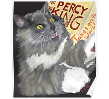 Percy King Takes on the World Poster