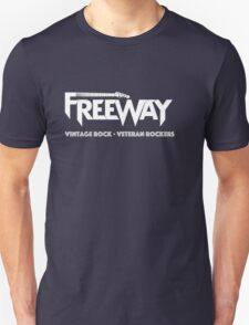 Freeway White on dark T-Shirt