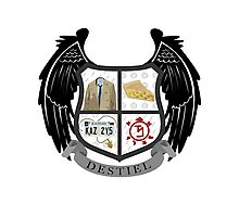 Destiel coat of arms Photographic Print