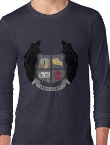 Destiel coat of arms Long Sleeve T-Shirt