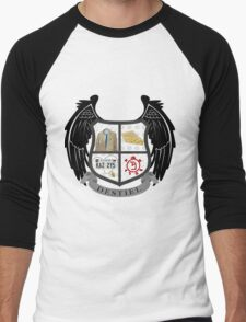 Destiel coat of arms Men's Baseball ¾ T-Shirt