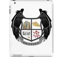 Destiel coat of arms iPad Case/Skin