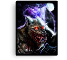 Werewolf-Blood Night Canvas Print