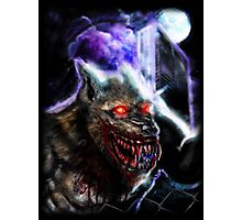 Werewolf-Blood Night Photographic Print