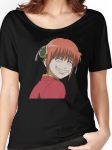 Kagura smiling Women's Relaxed Fit T-Shirt