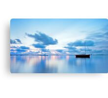 Tranquil Blue - Victoria Point Qld Canvas Print