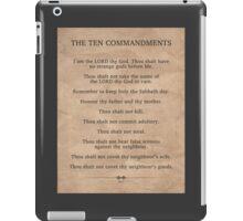 The Ten Commandments iPad Case/Skin