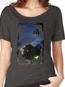 moonlit tree Women's Relaxed Fit T-Shirt