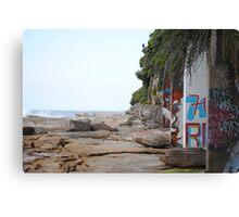 urban beachfront Canvas Print