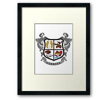 Sabriel coat of arms Framed Print