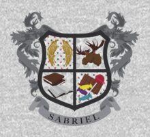 Sabriel coat of arms by JudithzzYuko