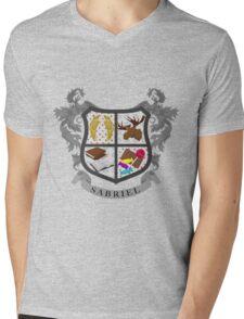Sabriel coat of arms Mens V-Neck T-Shirt