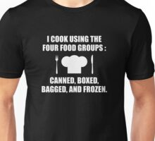 Four Food Groups Unisex T-Shirt