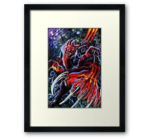 Grim-Viral Virus Framed Print