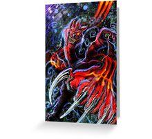 Grim-Viral Virus Greeting Card